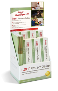 Display der ilon Protect-Salbe