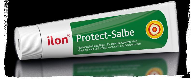 ilon Protect-Salbe liegend und freigestellt