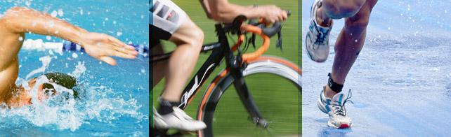 Triathlon Disziplinen auf einen Blick